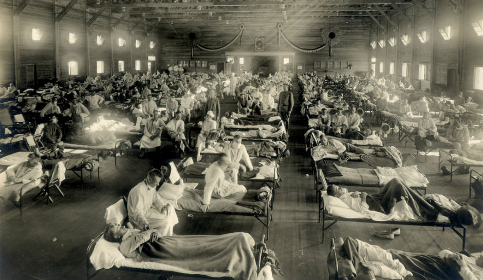 Spanish flu pandemic