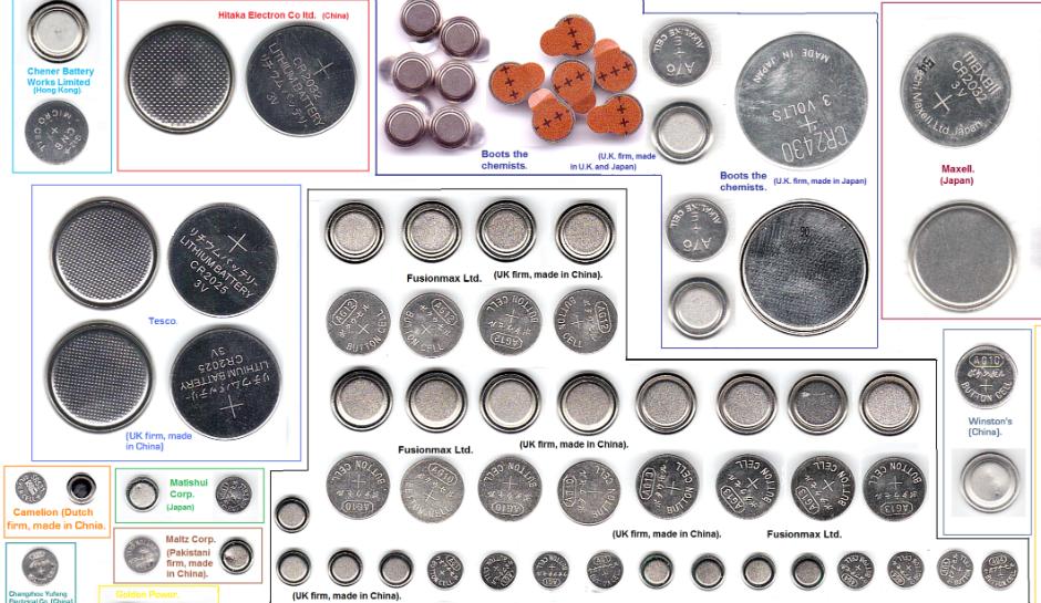 disk batteries